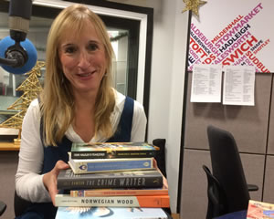 Catherine at BBC Radio Suffolk